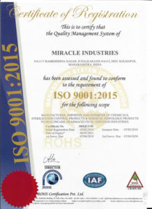 ISO MIRACLE INDUSTRIES